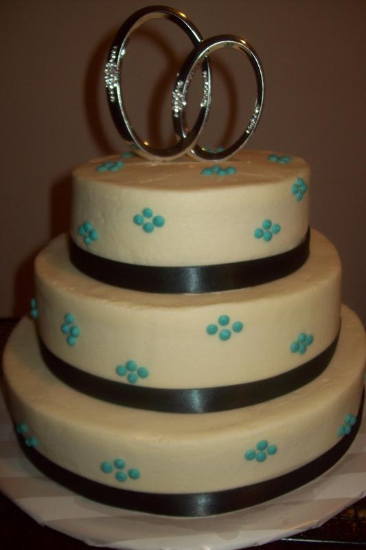 Engagement Party Cake - Sugar & Spice
